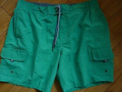BNWOT M&S Quick Dry Swim Swimming Shorts Trunks. JADE XL 39/ 41 WAIST