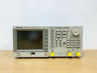 Tektronix Afg3151c Arbitrary Function Generator 150mhz 1gss