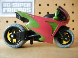 Imaginext DC Super Friends Robin MOTORCYCLE Red / Green cycle bike batcycle