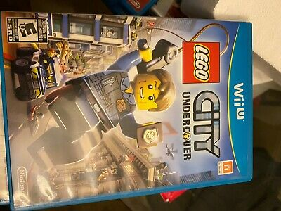 "Wii U video game bundle "" The LEGO Movie"" and ""LEGO city undercover"""