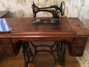 Antique Singer Sewing Machine Baulkham Hills The Hills District Preview