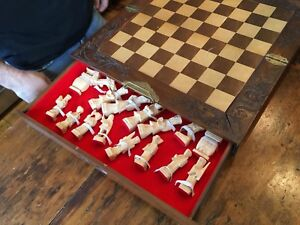 Hand Carved Chess Set