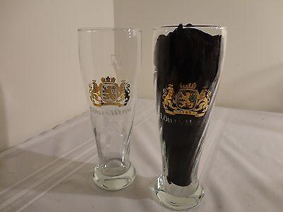 PAIR OF RARE LowenWeisse 0.5l Rastal Pilsner Glass - set of Two Glasses!!