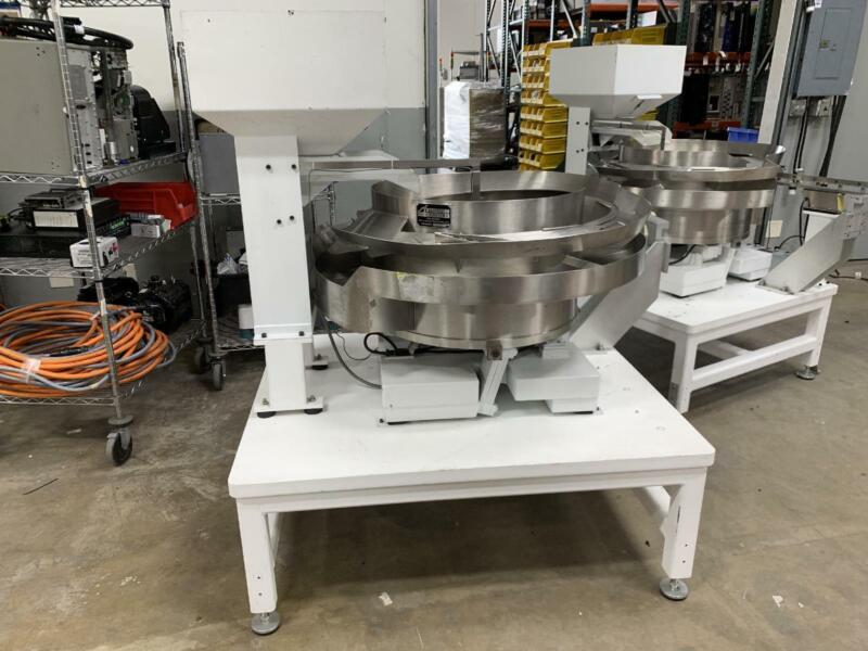 Automation Feed Systems Bowl Feeders Rodex FC-112 Plus - Vibratory Parts Feeder