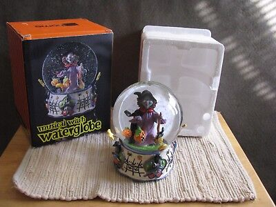 Musical witch water globe Ding Dong the witch JC Penney Halloween collection NIB](Halloween Witches Music)