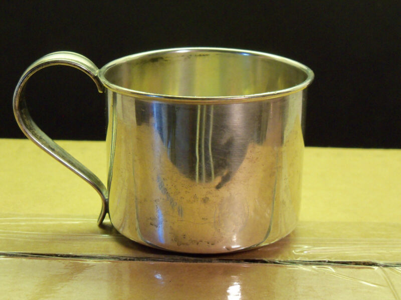 Vintage Amston Sterling Silver Baby/ Child Cup #103