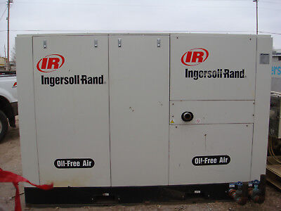 Ingersol Rand 525 Cfm.oil Free Compressor With System Dryer Much More See Desc