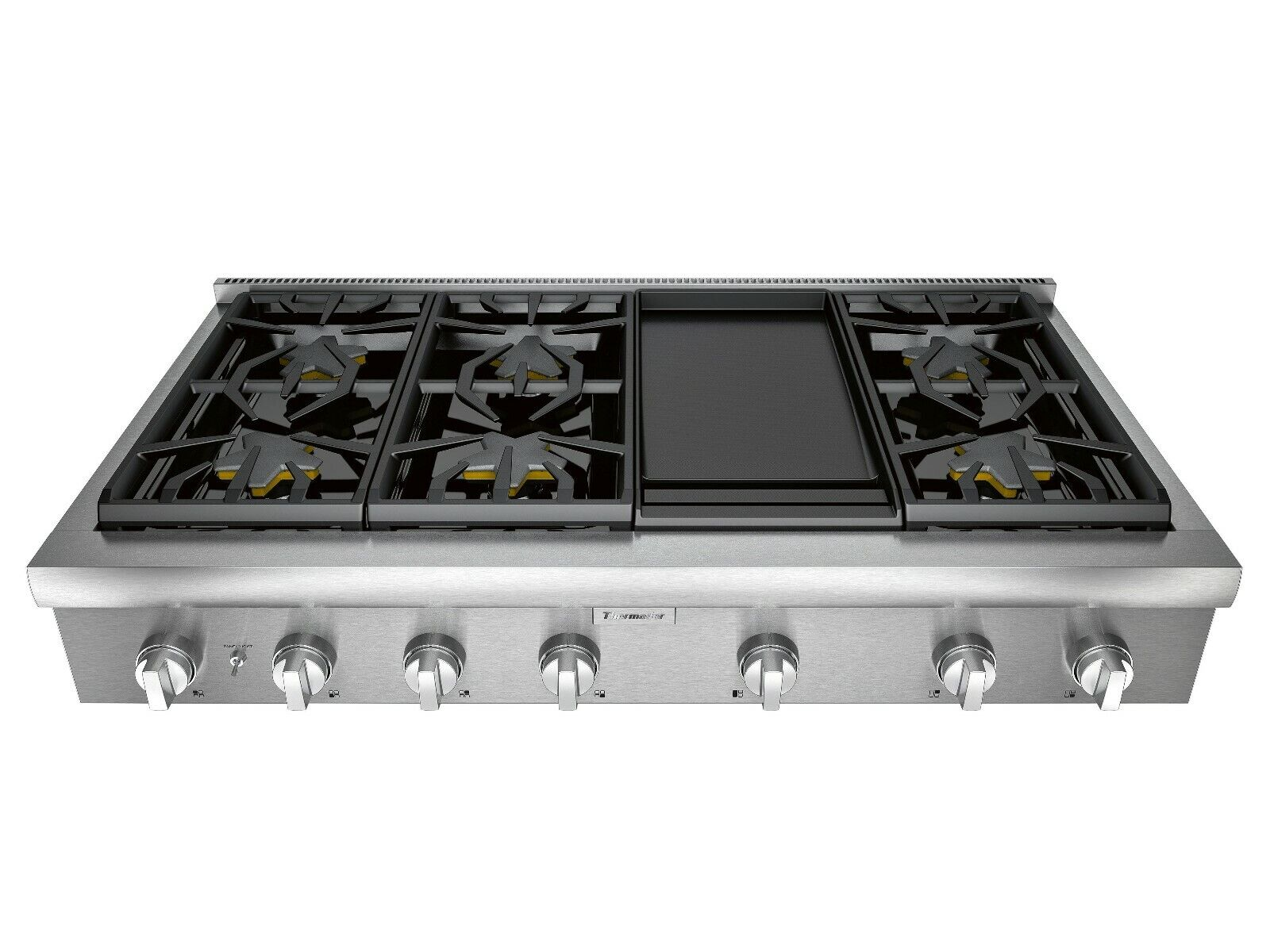 "Thermador 48"" SS 6 Burner Pro Rangetop w/ Griddle PCG486WD"