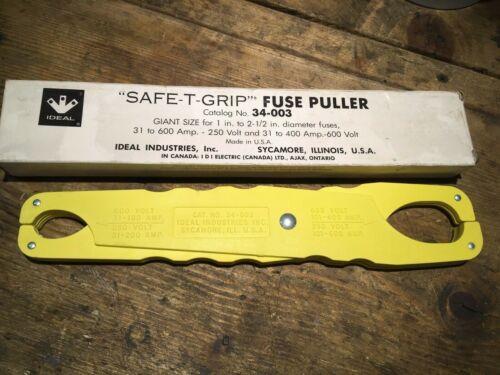 Ideal Safe-T-Grip Fuse Puller 34-033