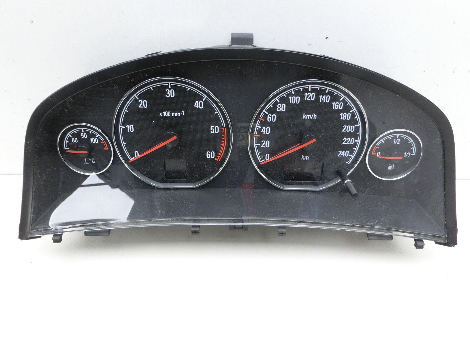 Instrument Speedometer for Opel Signum 03-05 3,0 Cdti 130KW 13186676CX