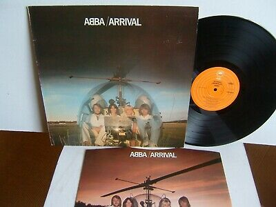 ABBA - Arrival  EPC 86018  UK LP  1976 Epic  Dancing Queen  Knowing Me You