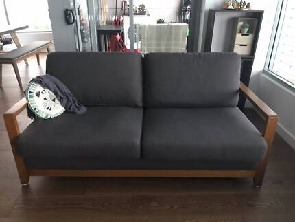 2 Seater Fabric Sofa in great condition for Sale