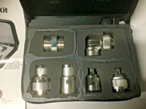 Fluke Universal Adapter Kit 1909773 - Pomona 7/16 DIN Adapter Kit Model 6254