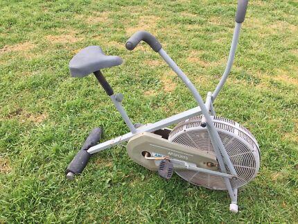 Exercise bike, ski machine and treadmill