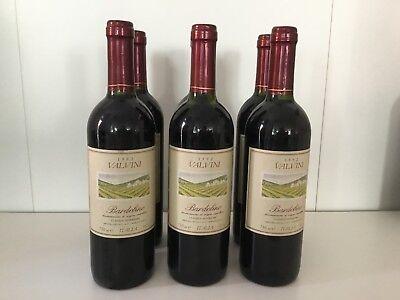 6 FL.BARDOLINO VALVINI Classico Superiore Rotwein 1992