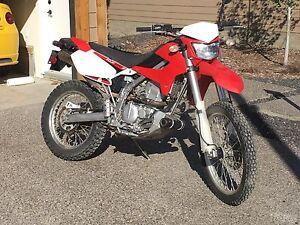 2009 Kawasaki KLX250S $3,000