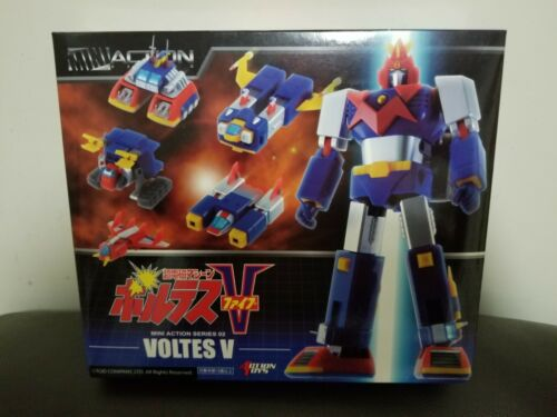 "Action Toys Mini Action Series 02 Voltes V 15cm 6"" Action Figure"