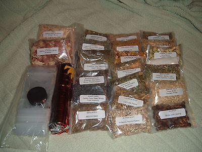 50 herb kit wicca pagan spells