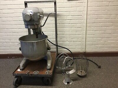 Hobart Commercial Mixer A-200 With Bowl Attachments From A Small Town School