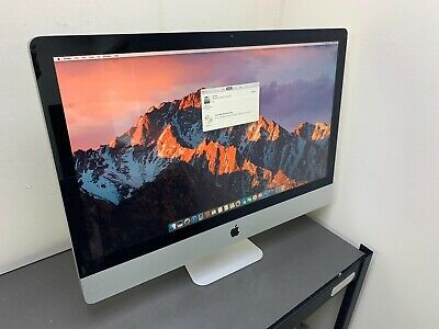 APPLE IMAC 27 INCH A1312 CORE i5 2.7GHz 2500S QUAD 4GB RAM 500 HD GRADE C