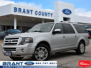 2012 Ford Expedition Max Limited - NAV, BACK UP CAMERA!