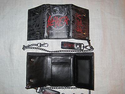 Slayer Wallet Billfold Thrash Metal Rock Band Music Apparel CA New 1001