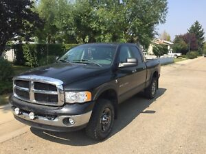 2004 ram 2500 for trade, Cummins with built Auto