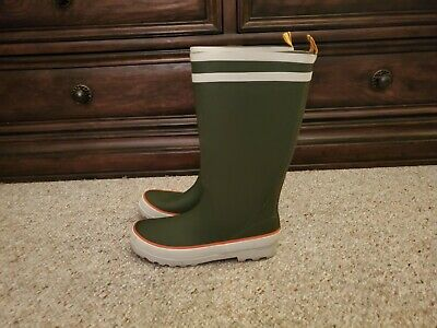 J.CREW RUBBER MUCK RIDING BOOTS WOMENS SIZE 8