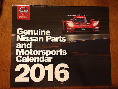 2016 Nissan Genuine Parts And Motorsports Calendar