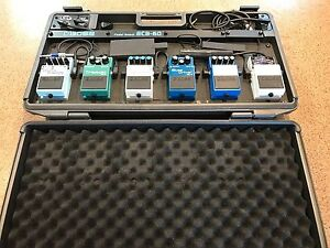 BOSS BCB-60 Pedal Board and Effect Pedals