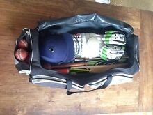 Cricket Bag with full Kit Newstead Brisbane North East Preview