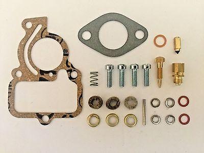 International Harvester Farmall Cub Basic Carburetor Kit w/ Cork Bowl Gasket