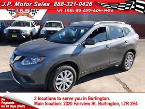 2016 Nissan Rogue S, Automatic, Bluetooth, Back Up Camera, AWD