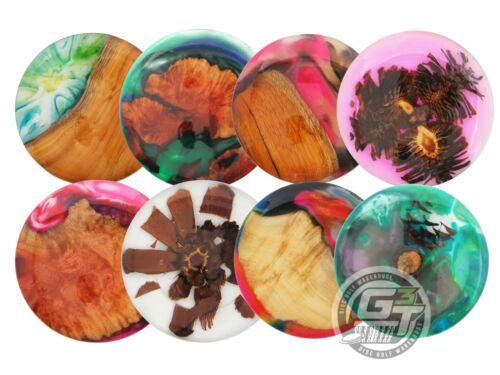 Matt Sime TREASURES of the FOREST Wood & Resin Disc Golf Mini Marker - YOU PICK