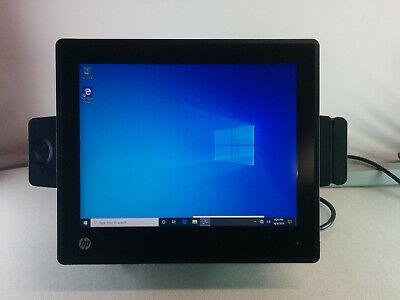 Hp Rp7 Retail System Model 7800 Pos Touchsystem 256gb Ssd Fingerprint Reader Msr