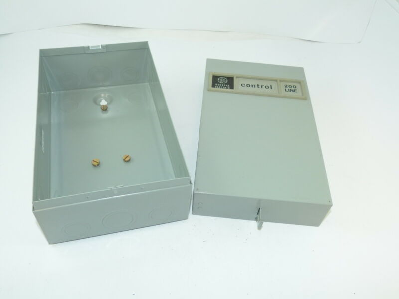 General Electric CR205 Nema 0 & 1 Enclosure Surplus