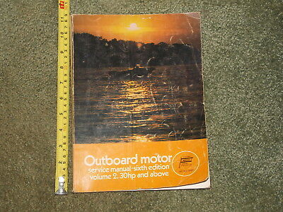 (ABOS MARINE OUTBOARD MOTOR SERVICE MANUAL 6TH EDITION VOLUME 2 30 HP AND ABOVE)