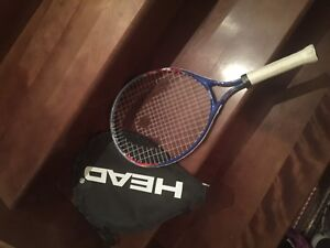 Tennis racket with case for kids