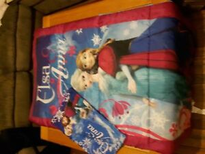 Elsa and Anna brand new sleeping bag and pillow case