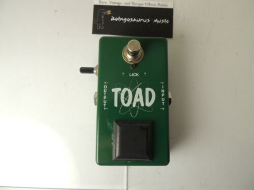 Vintage Technologies TOAD Fuzz Effects Pedal Serial Number #23 Early Issue