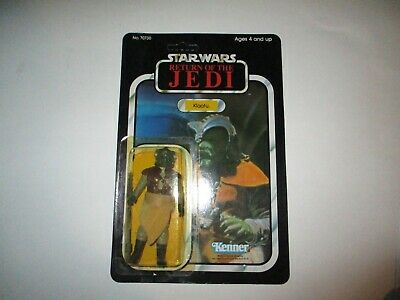 VINTAGE STAR WARS KLAATU MOC ON CARD 1983 ROTJ JEDI 79 BACK UNPUNCHED