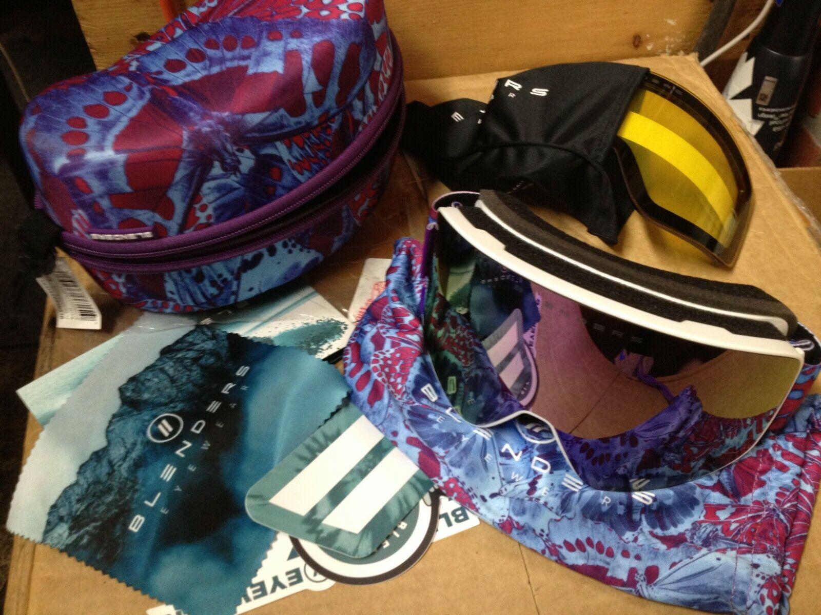 snowboarding and ski goggles majestic bloom goggles