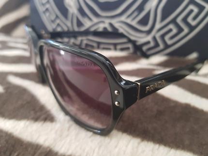 aa38fae70d8 BLACK  Prada SPR 11SF 1AB0A7 PRADA sunglasses