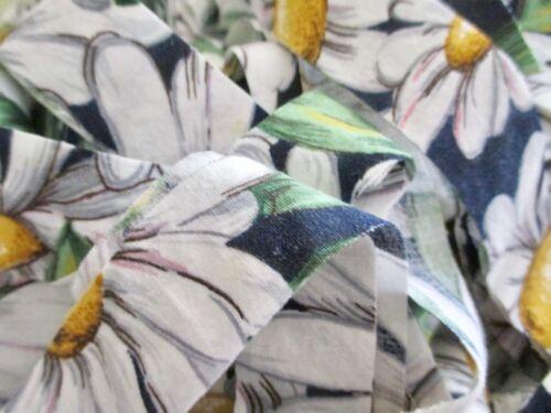 Rag Rug Yarn Precut Fabric Strips Toothbrush Amish Knot Braided Crochet 16 + yds