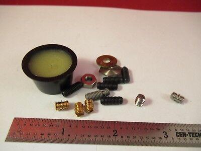 Bruel Kjaer Lot Accessories For Accelerometer Test Studs 10-32 Wax C7-a-03