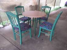 5 PIECE TABLE AND CHAIRS Slacks Creek Logan Area Preview