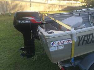Rhino high side tinny 4.1m with 40hp suzuki outboard Strathpine Pine Rivers Area Preview
