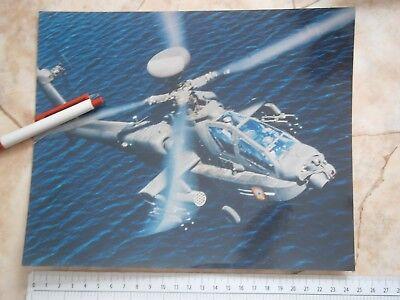 Ah 64D Longbow Apache Us Combat Helicopter Photo Picture Mcdonnell Douglas Corp