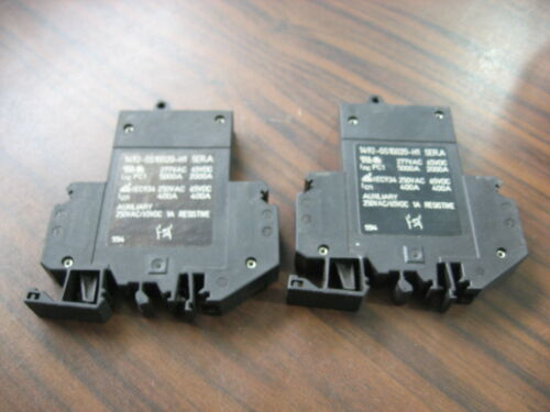 Lot of 2 Allen Bradley 1492-GS1G020-H1 Circuit Breakers (2 Amp, 277 Volt)