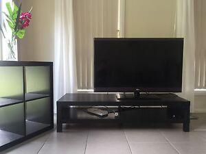 "Black wooden solid TV set - 45""Tv Ashfield Ashfield Area Preview"